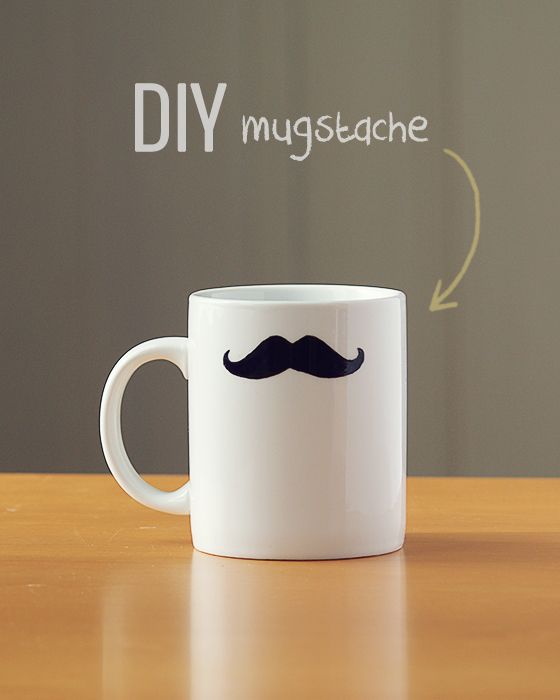 DIY / Mugstache #moustache