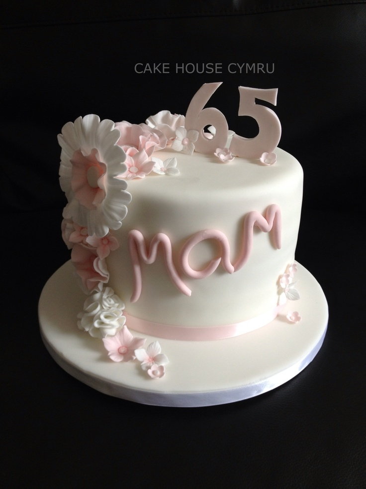 Cake Design For Moms : #65th Birthday Cake Craft ideas Pinterest Birthdays ...