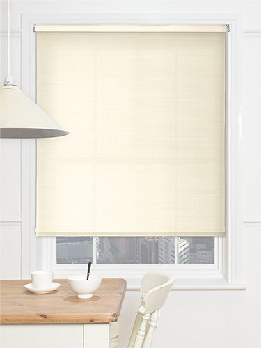 Valencia Simplicity Cream Roller Blind from Blinds 2go
