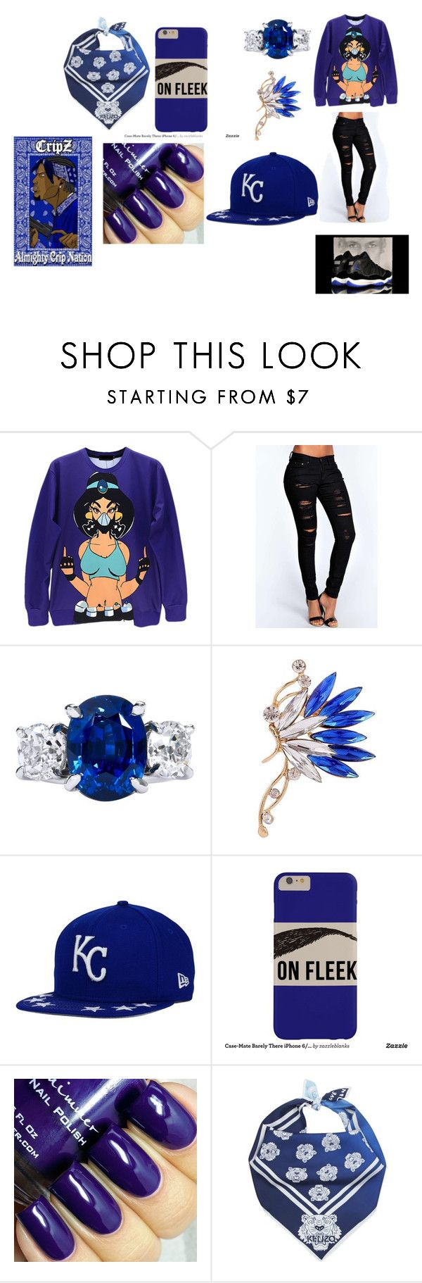 Crip gang bish by samyacox liked on polyvore featuring for 52 hoover crip tattoos