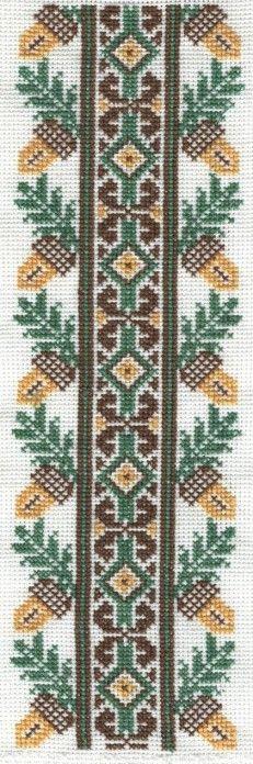 acorn border