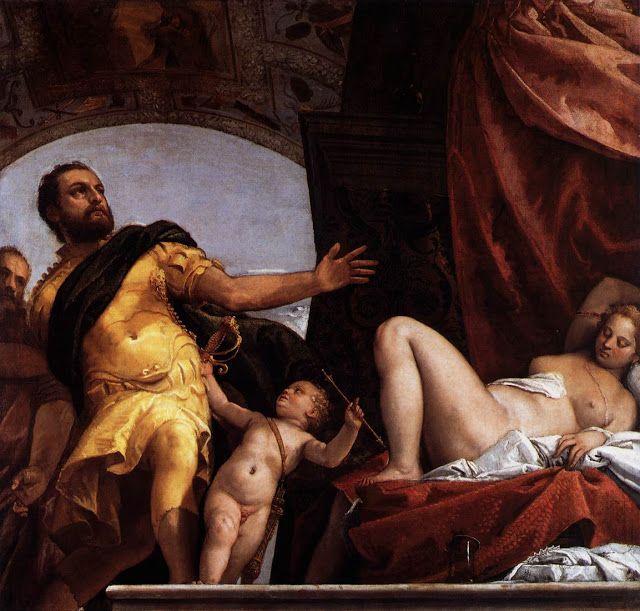 Αλληγορία   Αγάπη - Σεβασμός (1575)