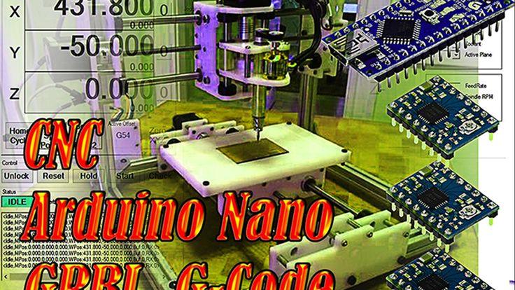 CNC GRBL Arduino G-code