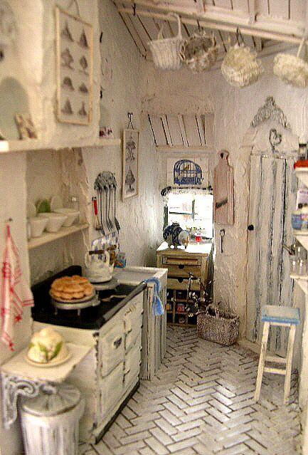 1916 Best Shabby Chic Kitchens Images On Pinterest