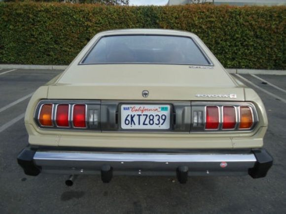 1976 Toyota Celica For Sale Rear
