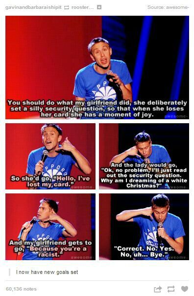LOVE Russel Howard - No one's heard of him in Australia - makes me so sad X*(
