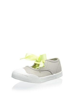 57% OFF OshKosh B'Gosh Laney Ribbon Sneaker Mary Jane (Toddler/Little Kid) (Grey/Neon)