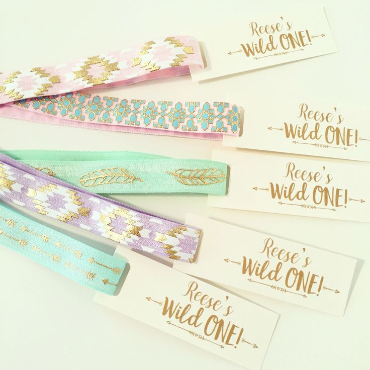 HEADBAND Party Favors | Custom Boho Birthday Headband Favors, Wild One Tribal Print Headbands, Flower Boho Bohemian Headband Party Favors by LoveMiaCo on Etsy https://www.etsy.com/listing/470215116/headband-party-favors-custom-boho