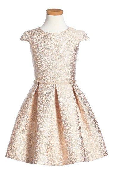 Alivia Simone 'Imperial Ballerina' Jacquard Dress (Little Girls & Big Girls) available at #Nordstrom