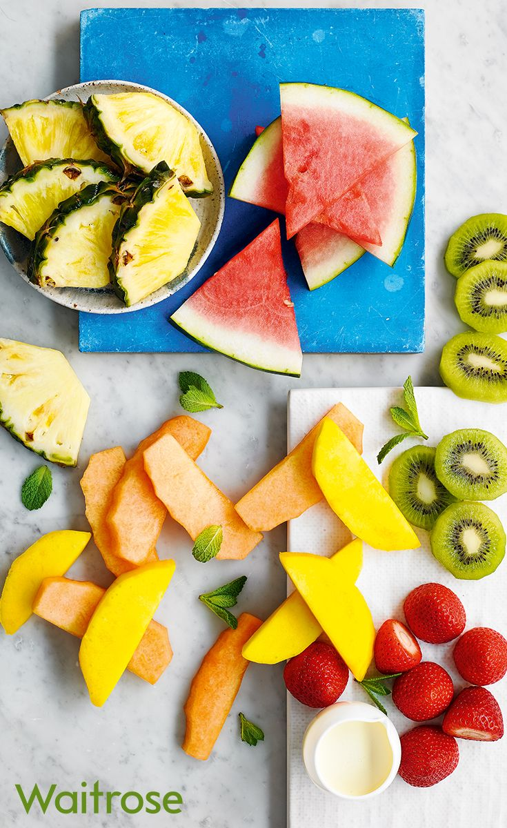 Our fresh fruit platters are perfect for summer parties or barbecues. Discover Waitrose Entertaining for food made to order.