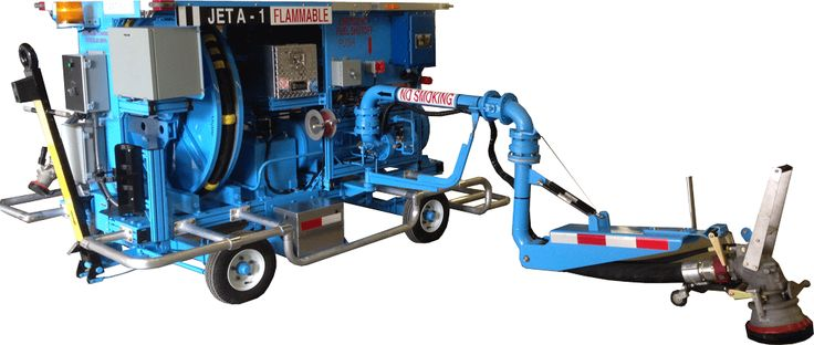 450 GPM Hydrant Cart with pantograph by BETA Fueling Systems, North Carolina, USA.