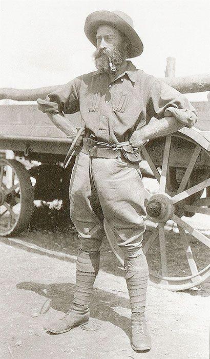 R. J. Cunninghame, 1909, adventurer, explorer, hunter, and safari guide.