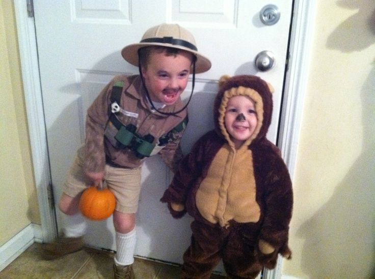 Park Ranger And Bear Costumes Love Dressing My Boys Up As A Pair I Did The