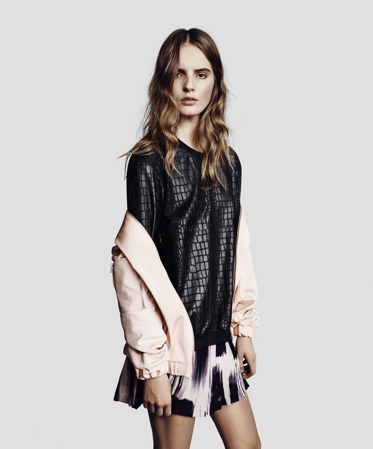 Leather + pink // #Studio25Finland #TigerOfSweden #SS14