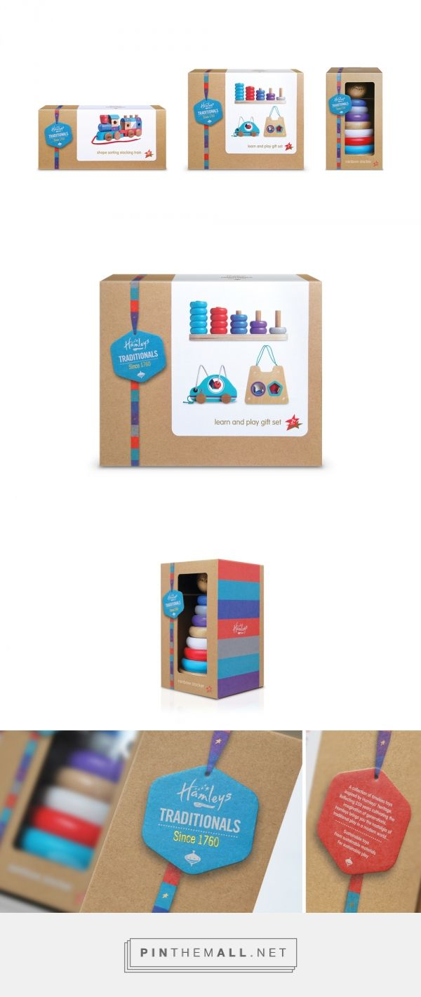 Hamleys Traditionals — The Dieline - Branding & Packaging - created via http://pinthemall.net