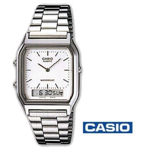 CASIO - Analogue/ Digital Watch (AQ-230A-7DMQYES) White Face  BNIB - BUY NOW @ 35.00 + £2.94 postage