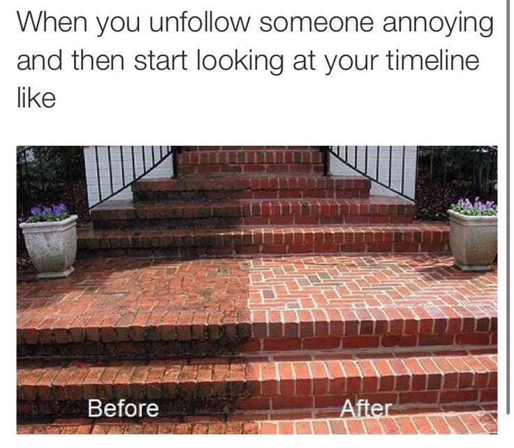 Unfollow Someone