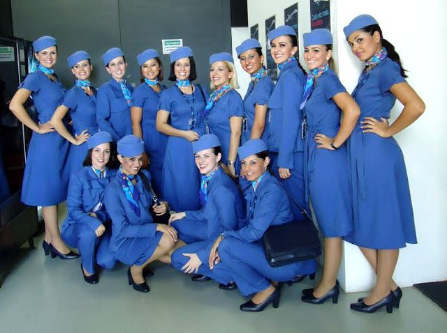 Azul Airlines  cabin crew uniform