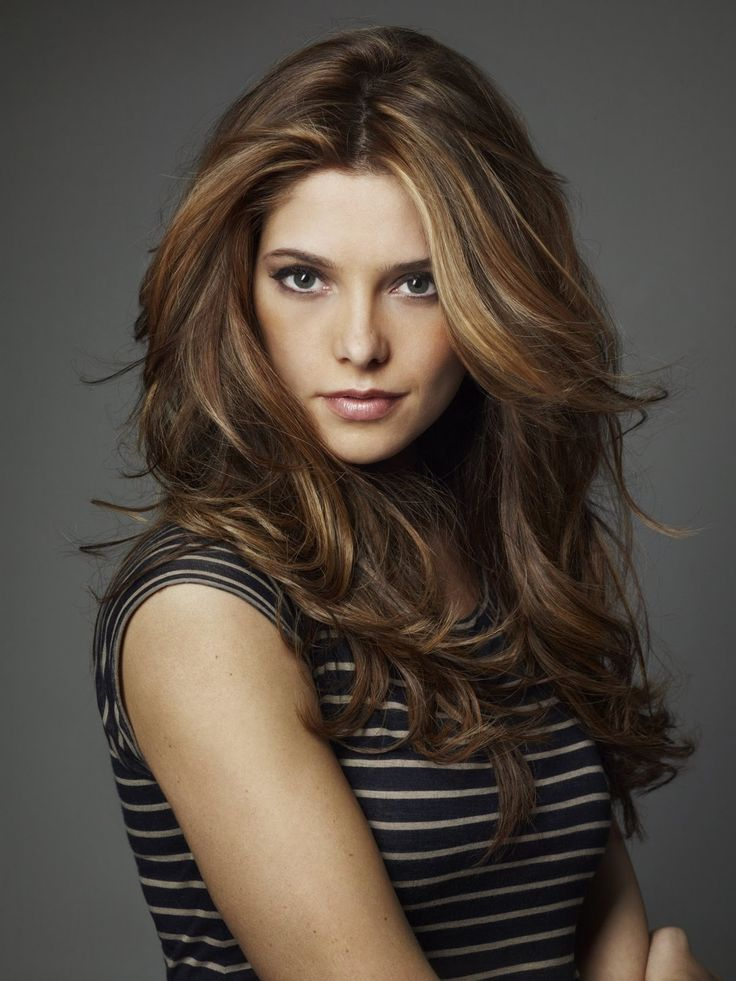 Ashley Greene hair style, love this color for fall!