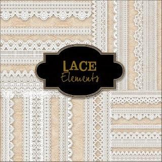 Friendly Scrap: free lace elements