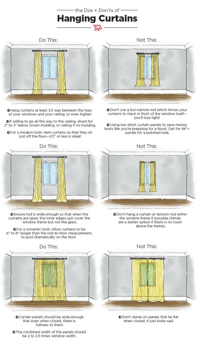 Best Hanging Curtains Ideas Only On Pinterest Window