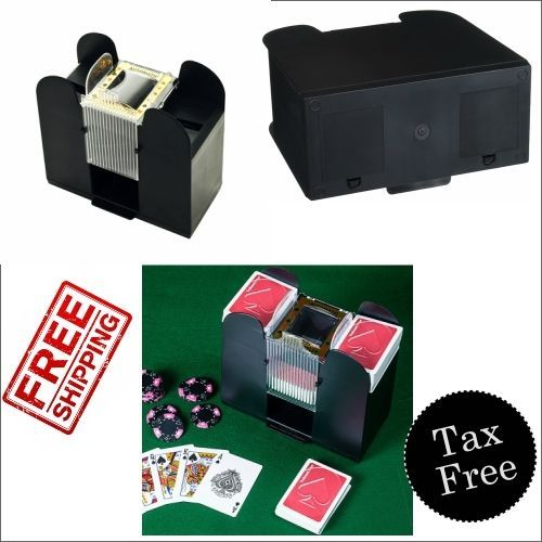 Casino 6 Shuffler Deck Automatic Poker Playing Bridge 1 Blackjack Brybelly Decks #casino #poker #blackjack #brybelly #carddecks #cardshufflers #Lasvegas #gambling  #ebay #shopping #amazon #freeshipping #walmart #buynow