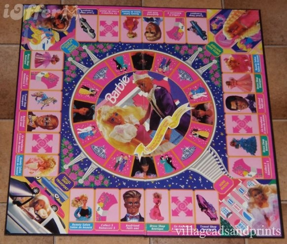 Barbie Queen of the Prom Edition Board Game -90s, but still nostalgic