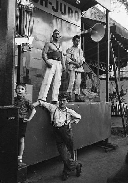 Judo, Cirque, ca. 1955 - Izis