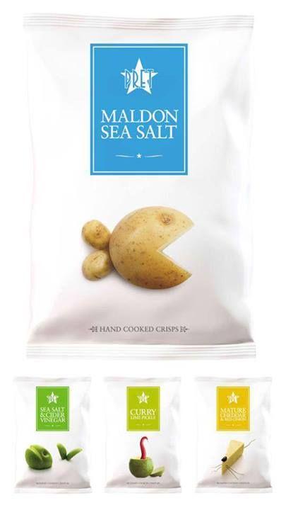 Pack / Packaging / Chips / Prêt à manger / Hand Cooked Crisps