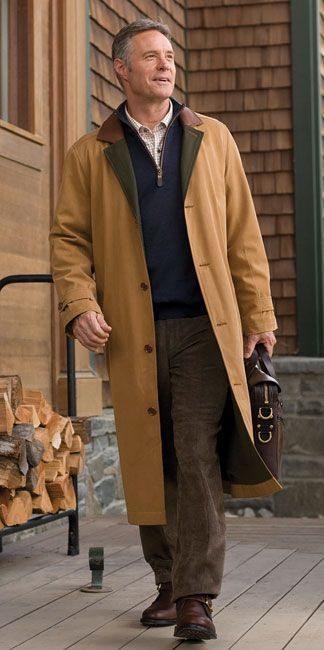 Just found this Mens Long Jacket - CFO Collection Stornoway Microtwill Coat -- Orvis on Orvis.com!