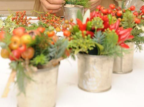 Italian Party Centerpieces
