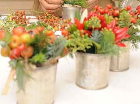 From La Cucina Italian: table decor