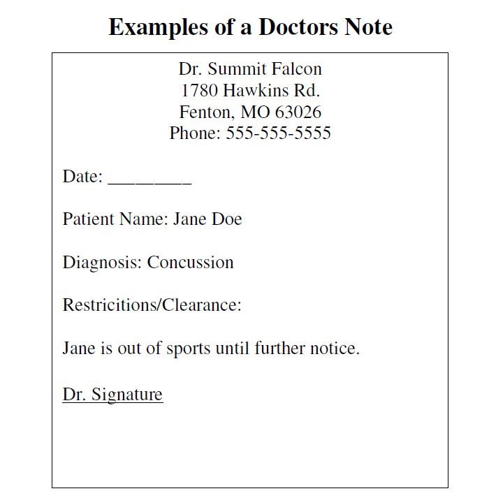 Más de 25 ideas increíbles sobre Doctors note template en Pinterest - doctor note pdf