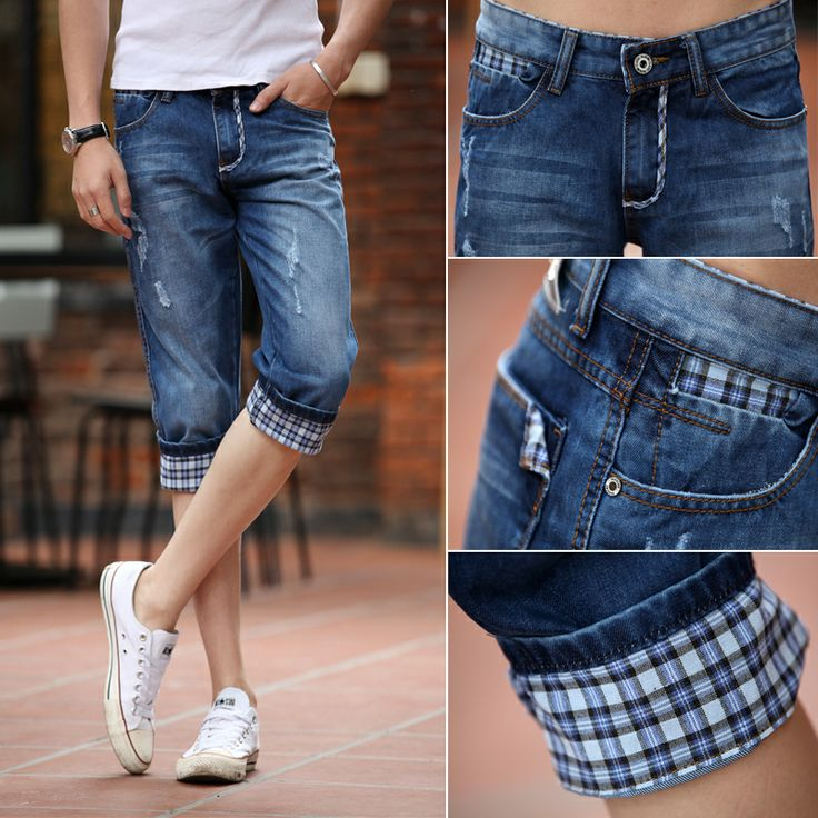 14 best mens denim shorts images on Pinterest