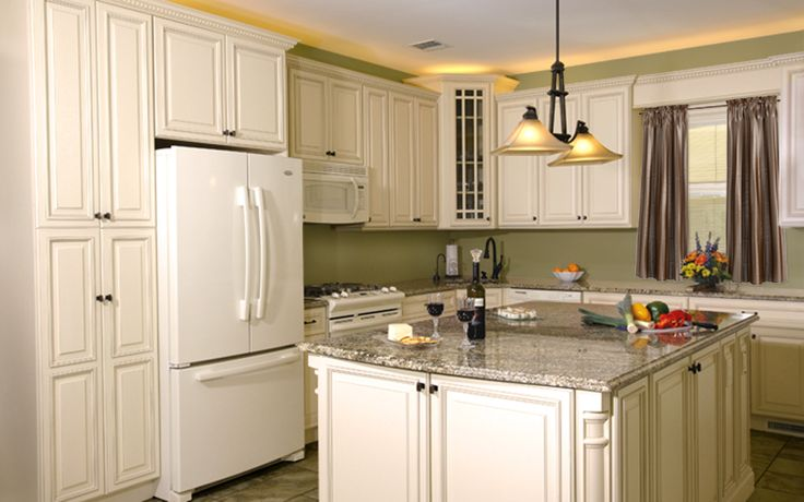 Luxury Wellington Ivory Glazed Cabinets