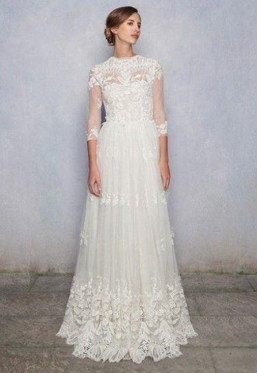 luisa beccaria wedding dresses | Wedding dress in pizzo