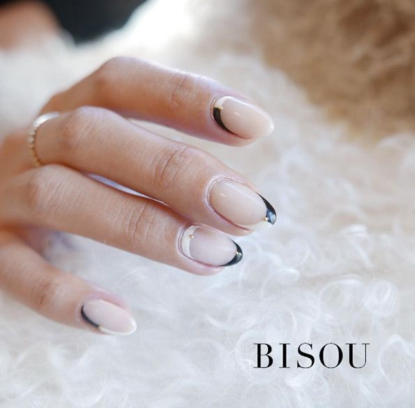 Black and white outlines by Bisou