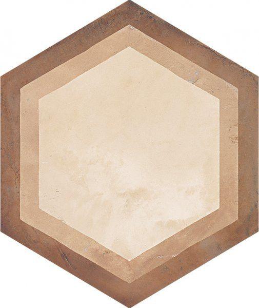#Marca Corona #Terra Cornice Vers. C 25x21,6 cm 0393   #Gres #cementine #25x21,6   su #casaebagno.it a 61 Euro/mq   #piastrelle #ceramica #pavimento #rivestimento #bagno #cucina #esterno
