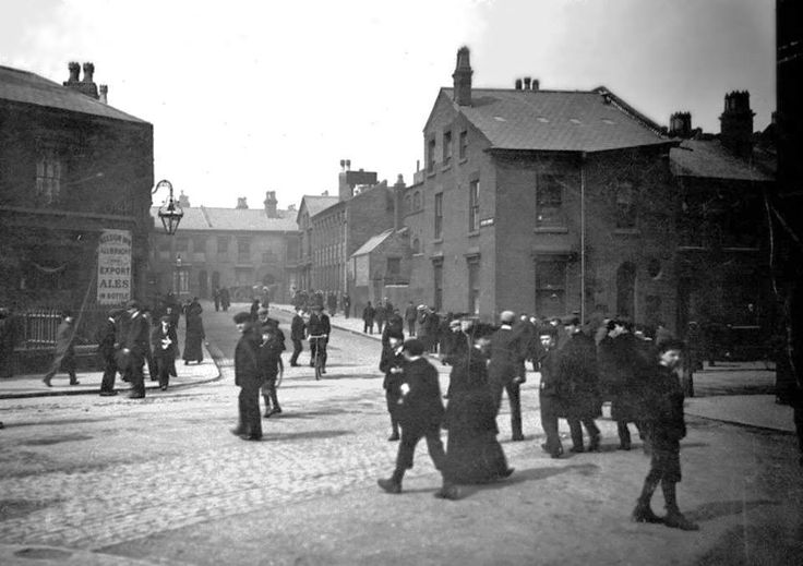 Vyse Street and Hyton Street Jewellery Quarter about 1910