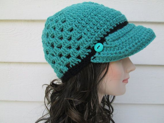 This item is ready to ship.  A perfect gift for Fall and Winter, its sure to be loved. This handmade Womens Hat is very beautiful and modern for any age. Its soft and warm and cozy  How pretty is the colors of this visor handmade hat. *Wash Care instructions*  I recommend hand washing - do not tumble dry.   Great quality, very nicely, professionally made.  All items in my shop are made by me in a smoke free and pet free home.  Please do not forget to read my shopping policies before…