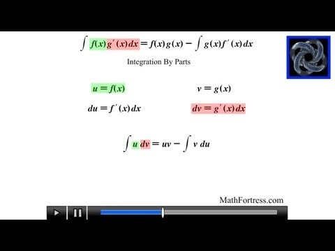 Calculus II: Integration By Parts (Level 1)