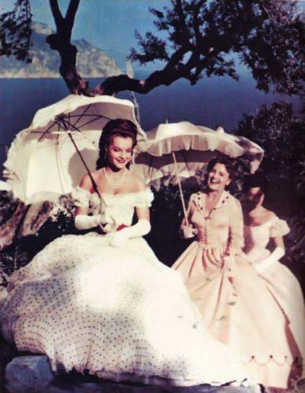 Romy Schneider et sa mère Magda Schneider - Sissi Trilogie