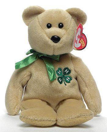 Clover - Bear - Ty Beanie Babies