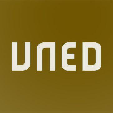 Logotipo de la UNED color pistacho #StudiaHumanitatis #unedhistoria