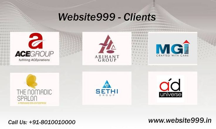 As you know that #website999 committed to create your #web_identity in just rupees 1999, We're working with major #brands. For details Call +91 8010010000 or visit @ http://goo.gl/uzueAI #SEO #SMO #PPC #WebDesigning #WebDevelopment