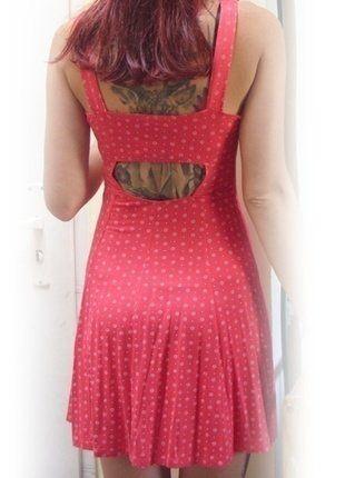 Kup mój przedmiot na #vintedpl http://www.vinted.pl/damska-odziez/krotkie-sukienki/17033114-czerwona-sukienka-z-wycieciami-na-plecach