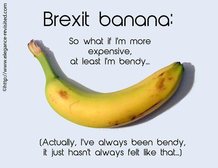 bent bananas