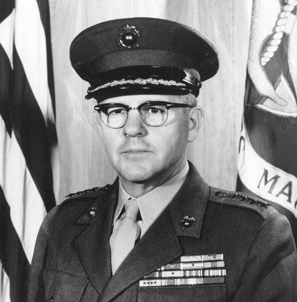 Gen David M. Shoup - 22nd Commandant of the Marine Corps and Medal of Honor recipient