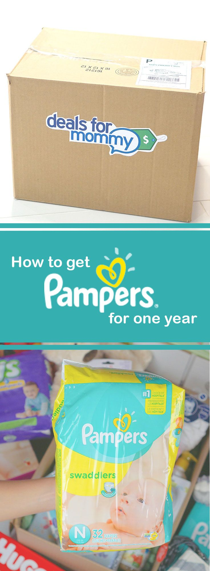 Most new dads don't know how easy it is to get free diapers online. All you have to do is sign up and your instantly entered to win an entire year of diapers for free! It's easy and 100% free.