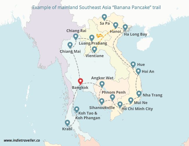 South-East Asia in 4 weeks 4 weeks will give you more time to work with, but it's realistically still too tight for hitting up all of mainland South-East Asia. My suggestion is to focus on the two countries that appeal to you most. Some people will hate m